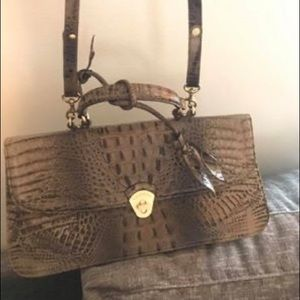 Brahmin - brown leather bag